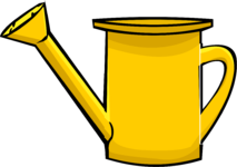 Watering Can clipart yellow Wiki by Club Wikia Watering