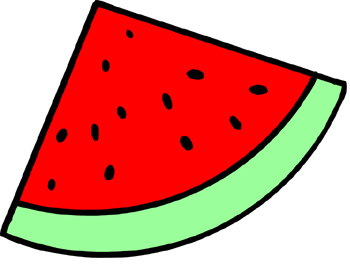 Melon clipart watermelon slice 4 Free clipart clipart watermelon