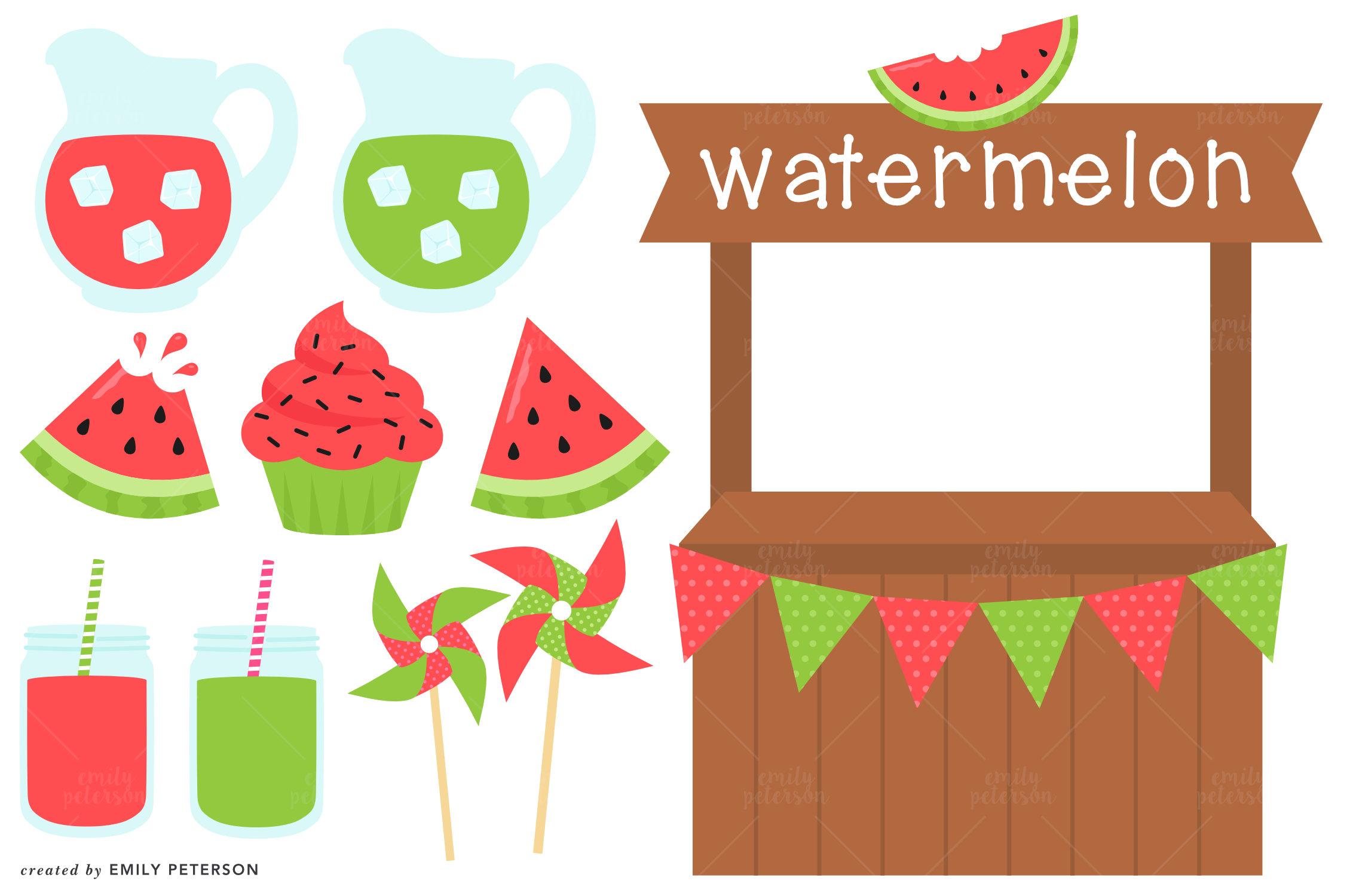 Watermelon clipart cupcake File Cupcake Stand Cute Clip