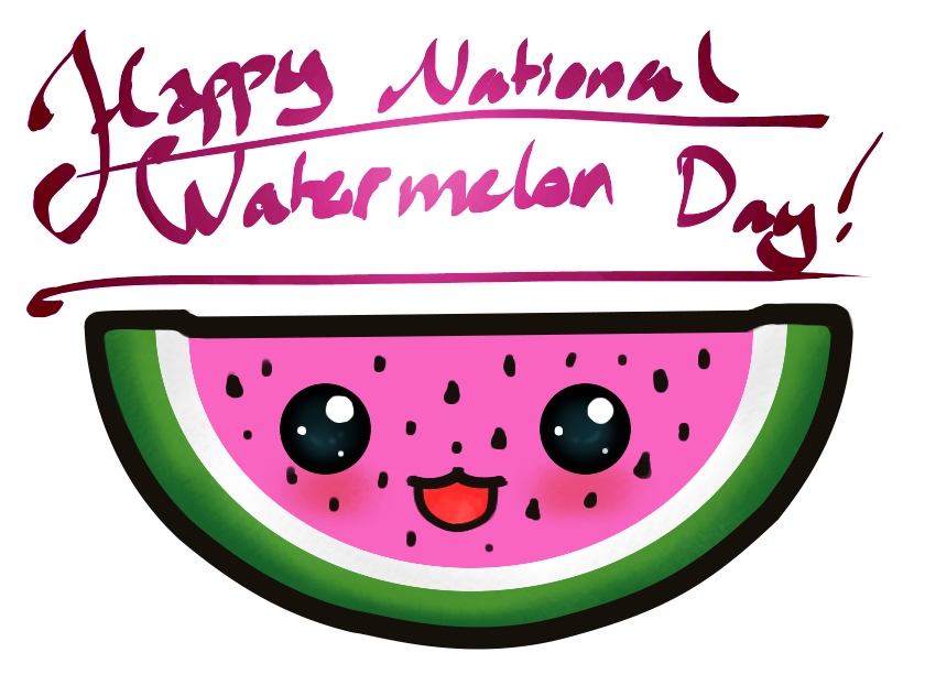Watermelon clipart happy Watermelon 3 Watermelon is Day