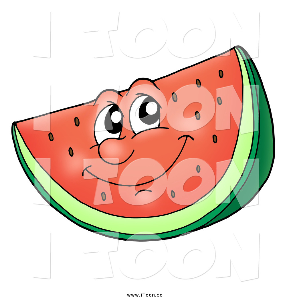 Watermelon clipart happy Free Royalty a Free by