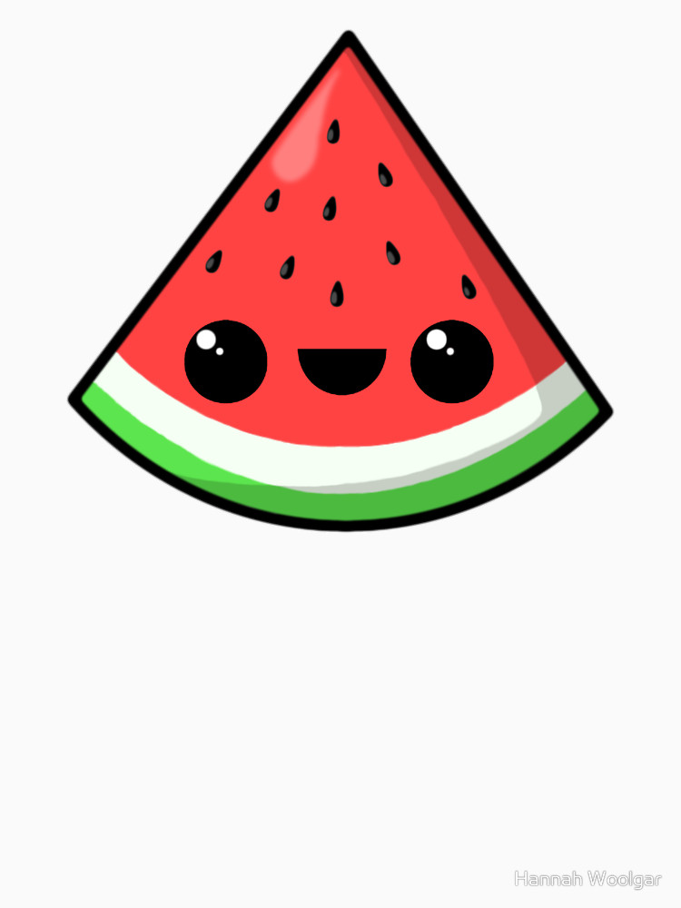 Watermelon clipart kawaii By kawaii kawaii & watermelon
