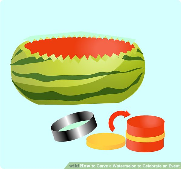 Watermelon clipart oblong To a Steps intact to