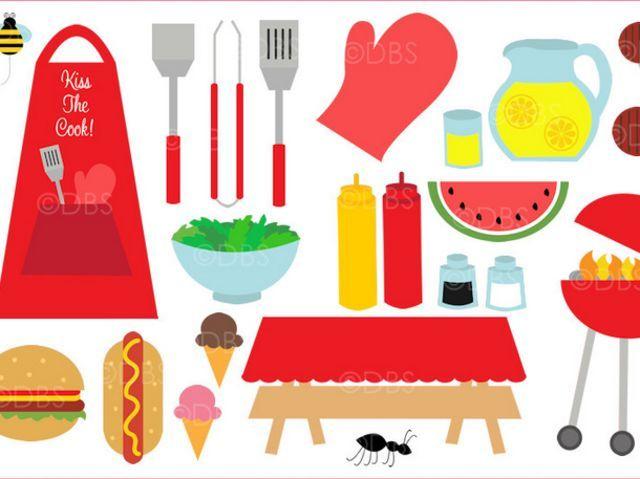 Watermelon clipart picnic food Images What's on Pinterest Doodle