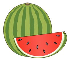 Watermelon clipart single vegetable Clip art Watermelon Gold Apple