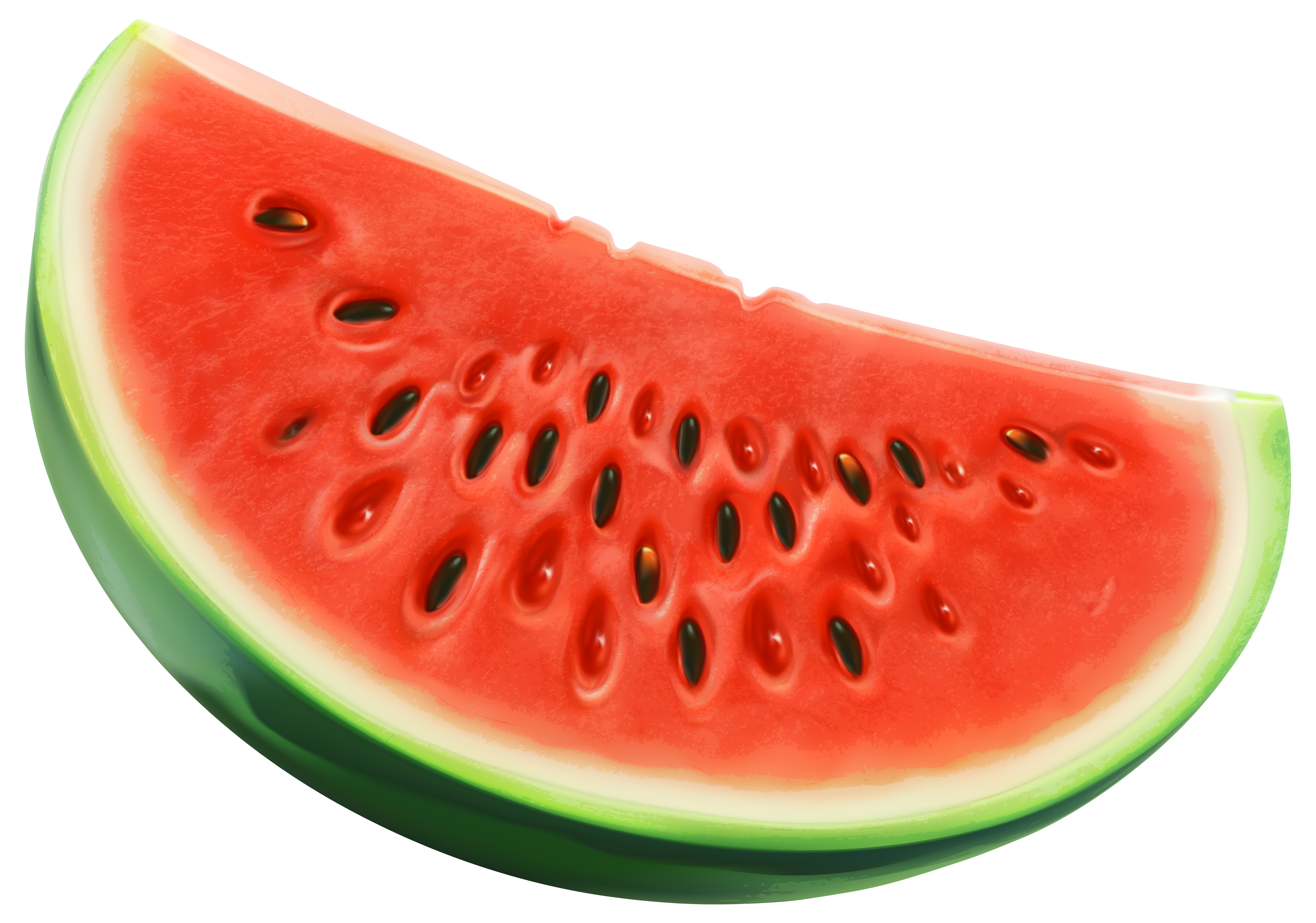 Watermelon clipart transparent food Piece PNG Image High Yopriceville