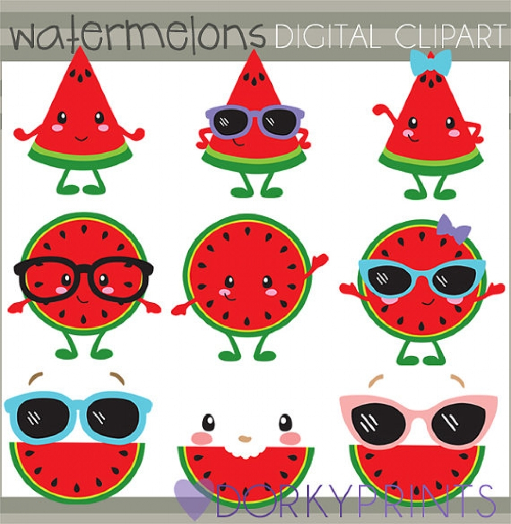 Watermelon clipart watermellon Art watermelon art clipart personal