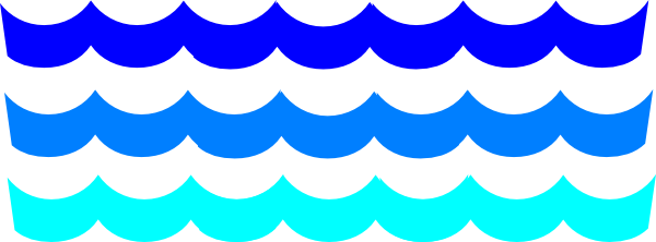 River clipart wave pattern #3
