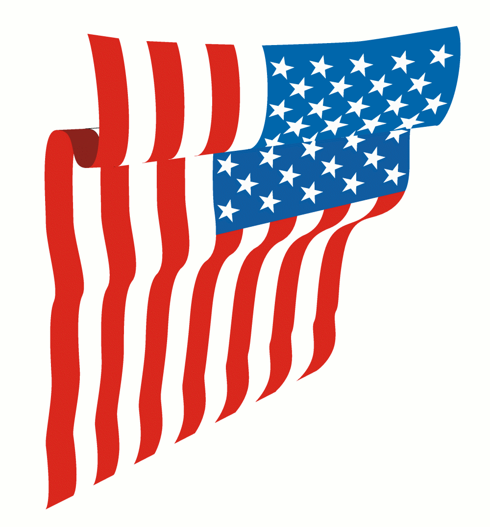 America clipart veterans day American clipart American wave flag