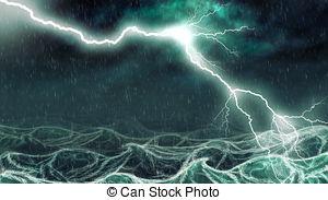 Sea clipart stormy sea #1
