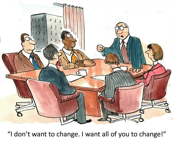 Way clipart change management Leadership requires best and believe