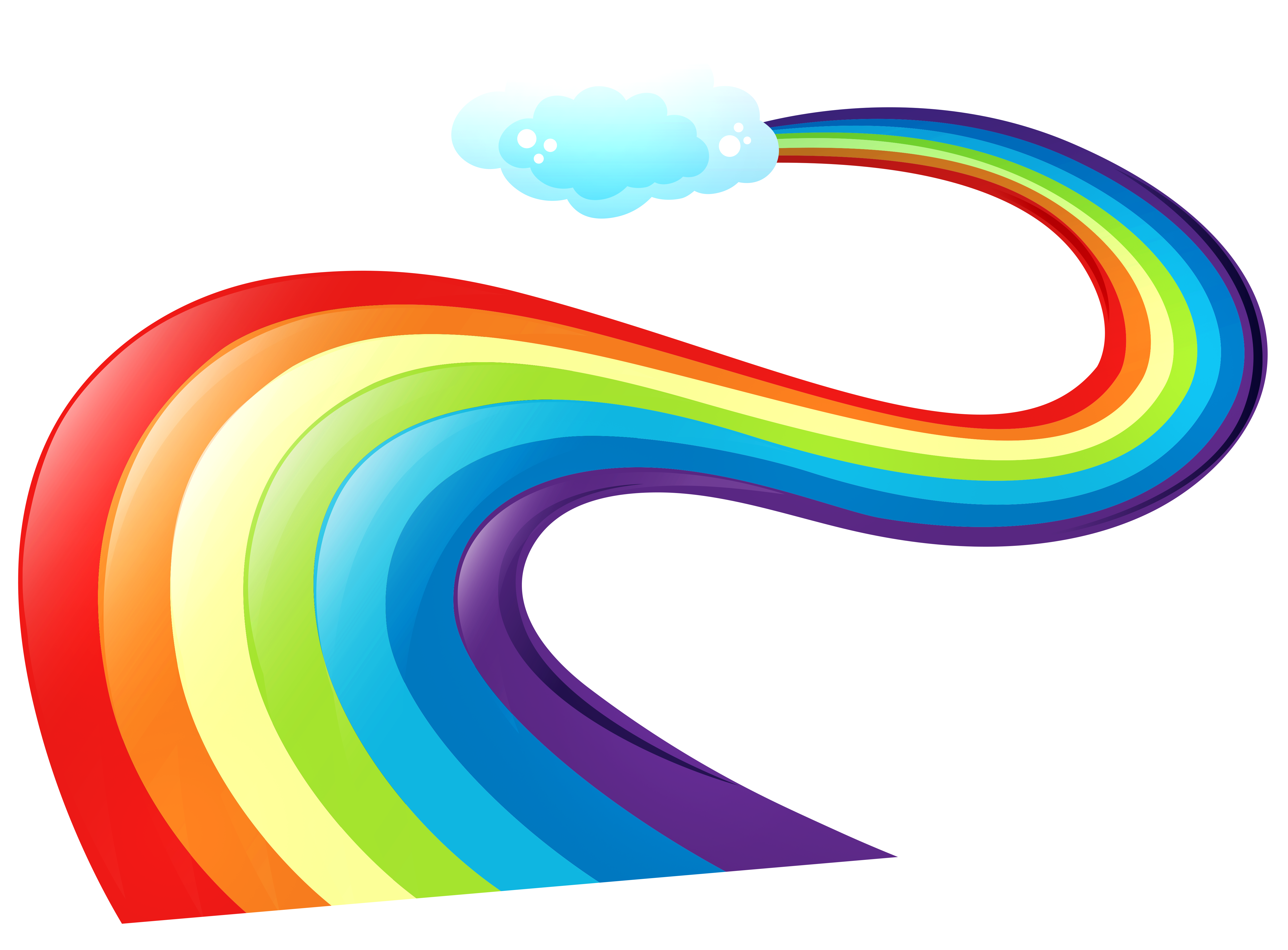 Way clipart view Rainbow collection transparent rainbow clipart