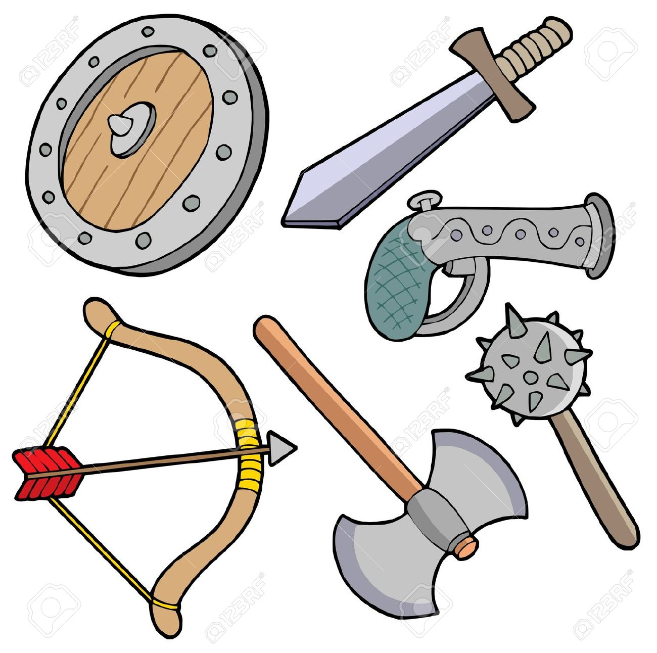 Weapon clipart Clipart Download drawings Weapon #4