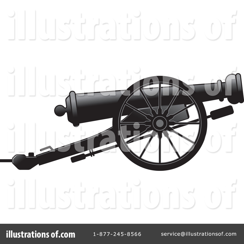 Weapon clipart cannon Perera Illustration Royalty #1163822 (RF)