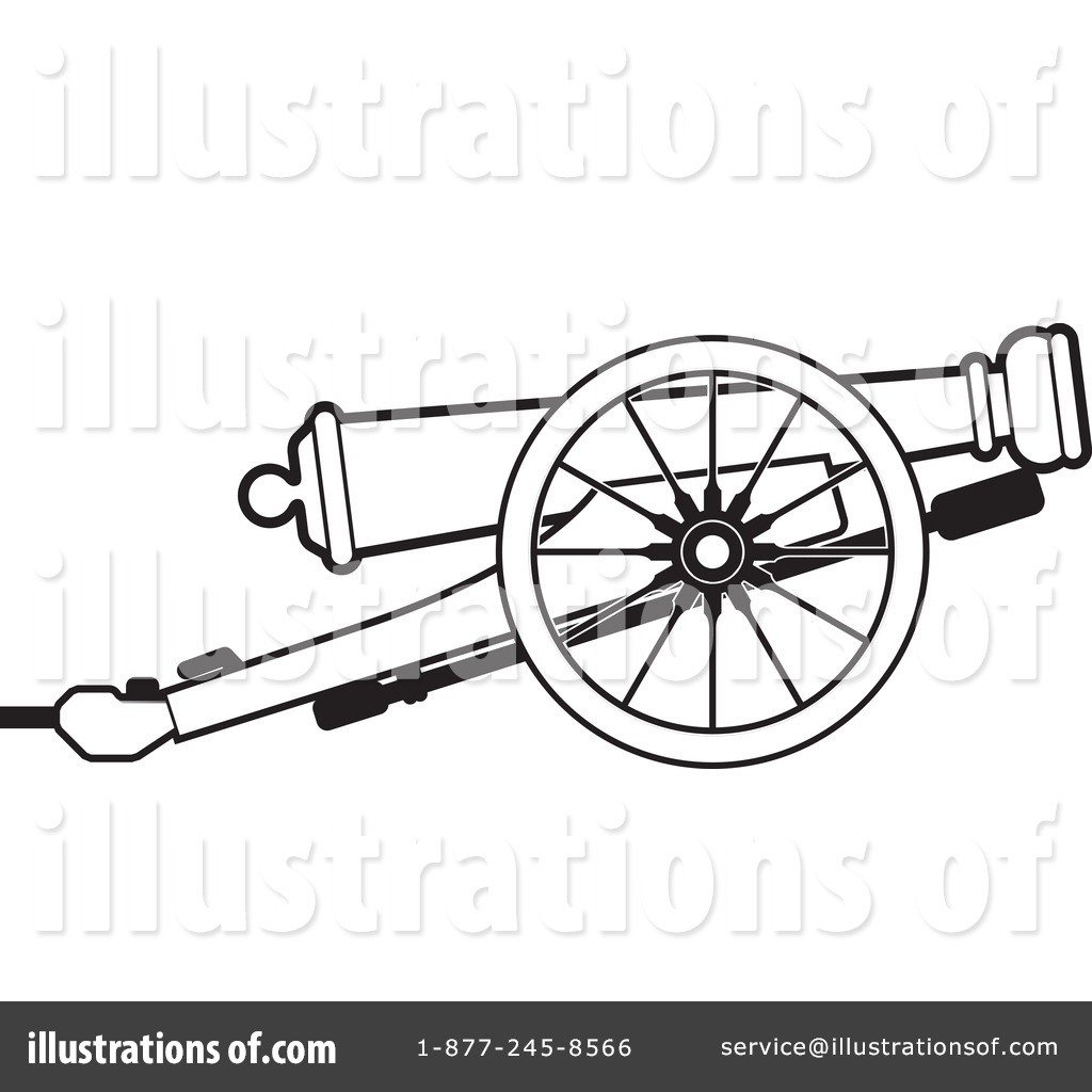 Weapon clipart cannon Perera Illustration Royalty #1163821 (RF)