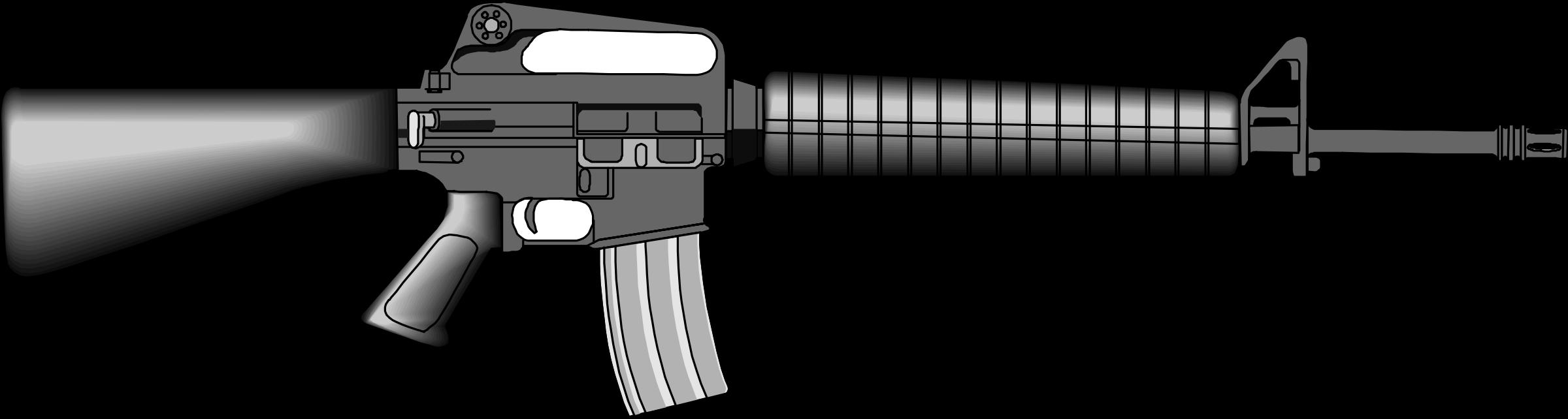 Assault Rifle clipart m16 M16 M16 Clipart