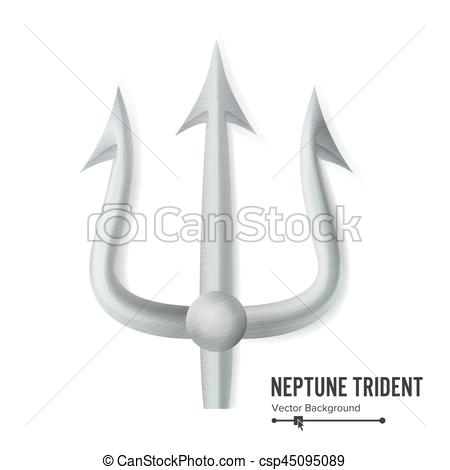 Pitchfork clipart trident Or  Silver Weapon Silhouette