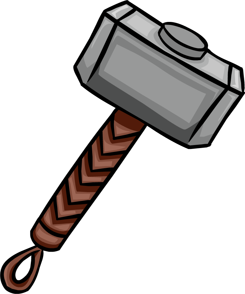 Weapon clipart thor Wikia Penguin Mjolnir by Mjolnir