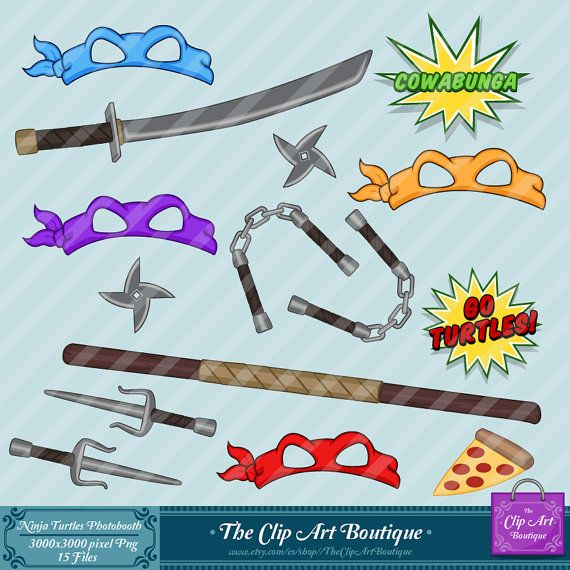 Weapon clipart tmnt Pinterest 57 Happy Feliz Cumpleaños