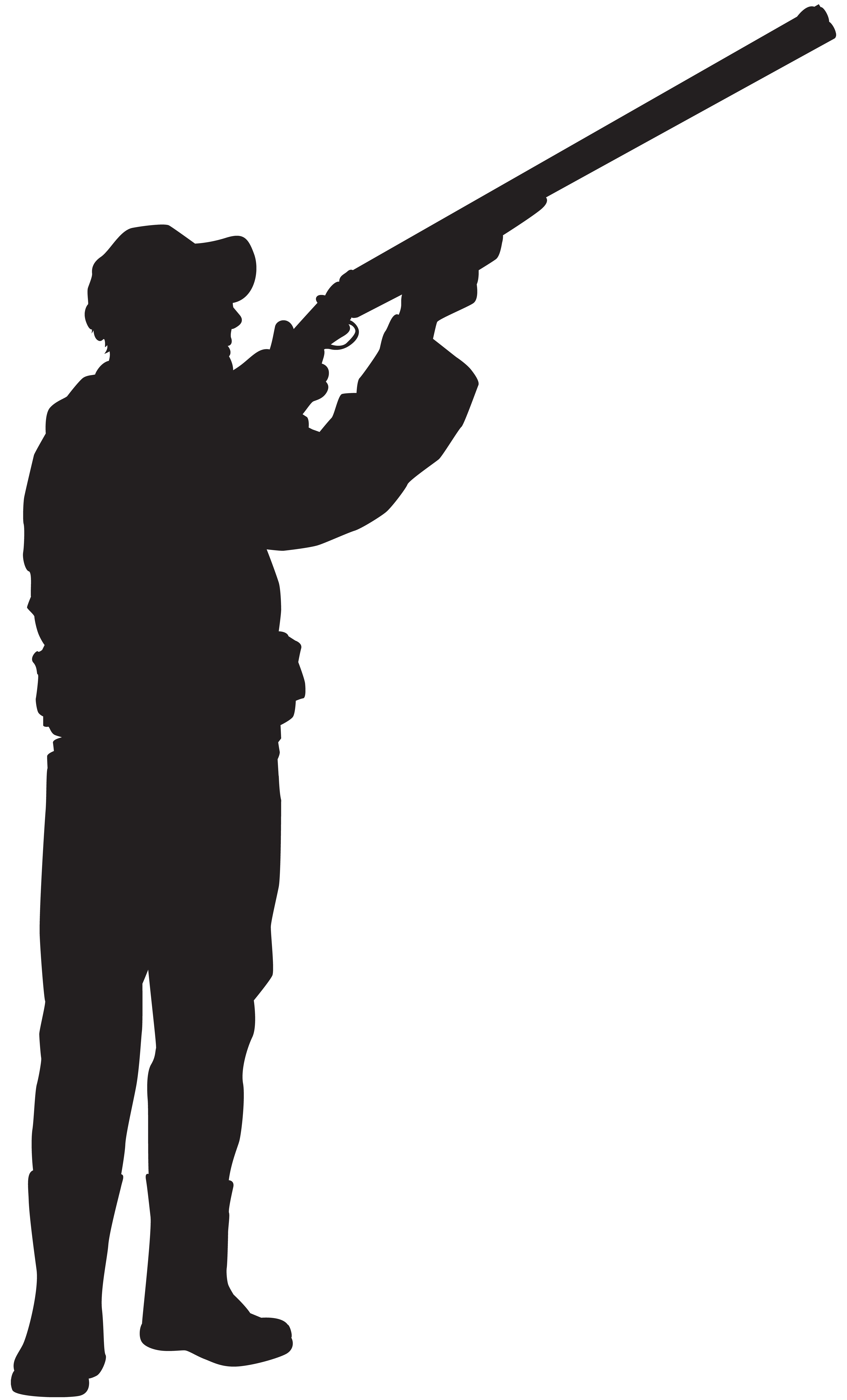 Shooter clipart silhouette Size Hunter Yopriceville full Silhouette