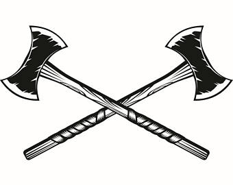 Weapon clipart viking axe Axes Forrest Tool Headed Woods