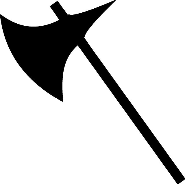 Axe clipart silhouette Cliparts axe Axe Viking Zone
