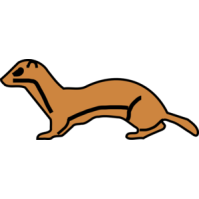 Weasel clipart Weasel Clip Clipart Images Free