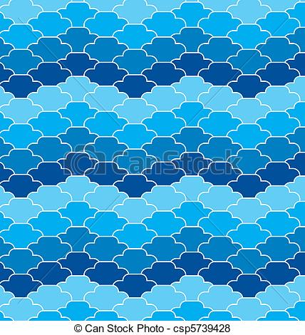 Background clipart ocean Waves background  ocean csp5739428