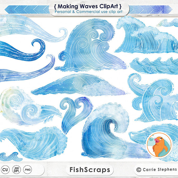 Monster Waves clipart water wave #9
