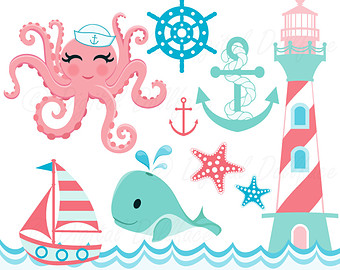 Seaside clipart nautica #10