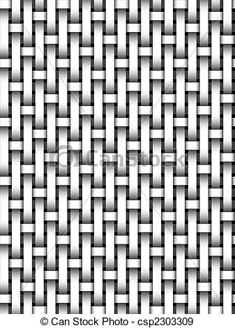 Weaves clipart black and white Photographs Stock basket Stock Photo