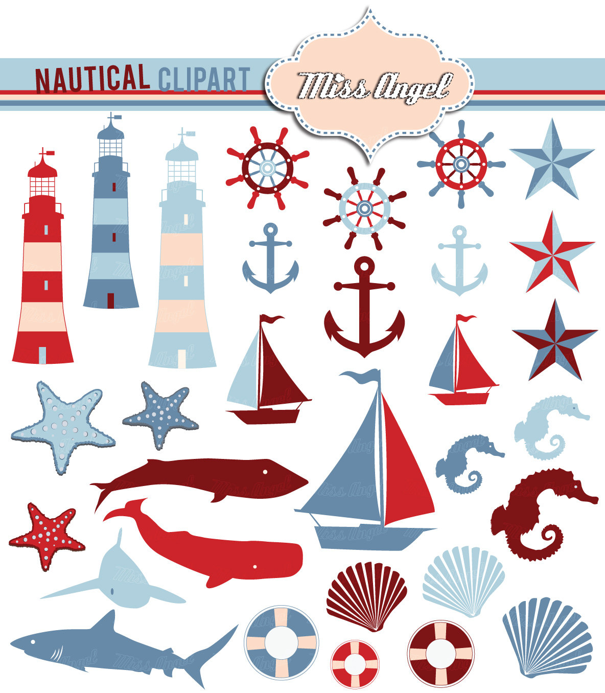 Weaves clipart blue boat #15