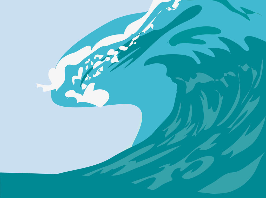 Monster Waves clipart water wave #3