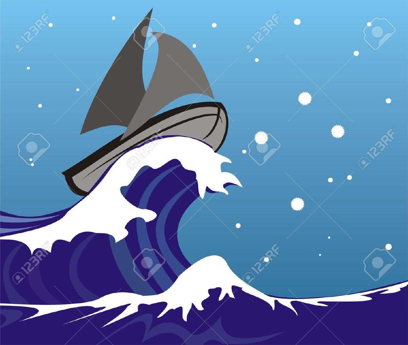 Sea clipart stormy sea #3