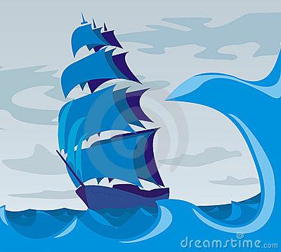 Sea clipart stormy sea #4