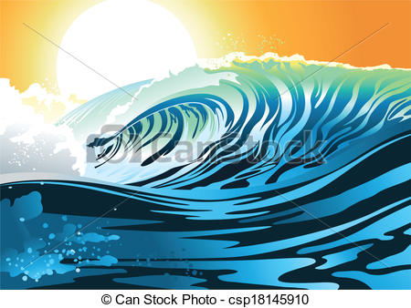 Weaves clipart surf wave #10