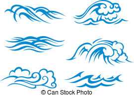 Weaves clipart surf wave #6