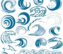 Curl clipart flower scroll Ideas wave wave illustration/logo tattoo