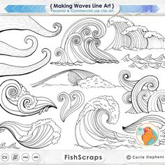 Weaves clipart wave line PNG Clip Water Photoshop Line