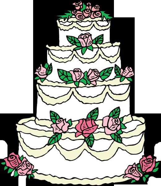 Wedding Cake clipart Wedding Panda Black Clip Cake