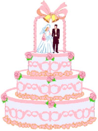 Wedding Cake clipart Clipart cake Graphics Free pink
