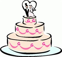 Wedding Cake clipart Art Images Wedding Panda Clipart