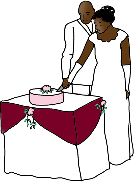 Wedding Cake clipart bridal couple Bride own Invitations your Make