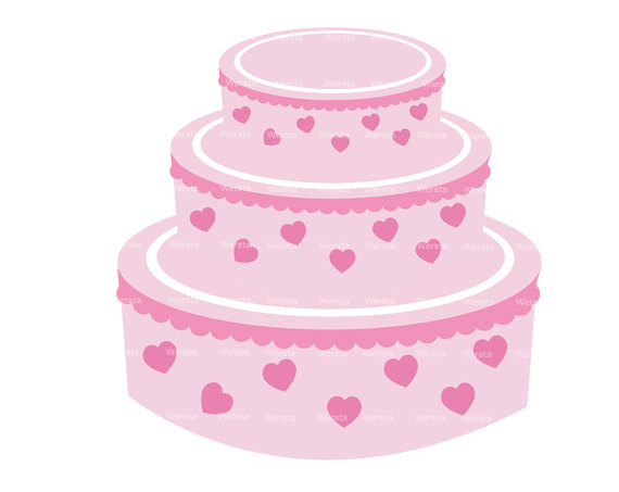 Wedding Cake clipart cute cake Free clipart clipart gallery birthday