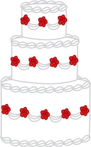 Wedding Cake clipart line art Images Clipart Wedding Art Free