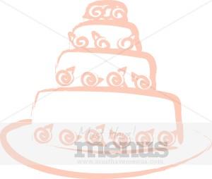 Wedding Cake clipart tiered cake Wedding Tiered Clipart Cake Wedding