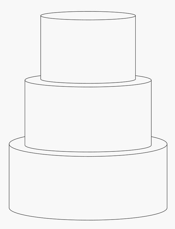 Wedding Cake clipart tiered cake Cake 3 templates Template Cake