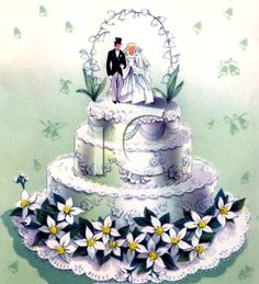 Wedding Cake clipart vintage cake Vintage Cakes Wedding  of