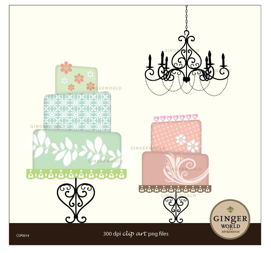 Wedding Cake clipart vintage cake For khloe khloe Decoration wedding
