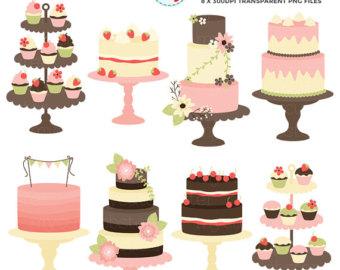 Wedding Cake clipart vintage cake Art Clipart art Clipart clip